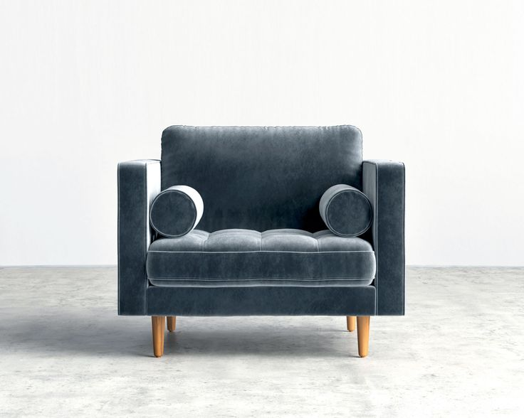 Luca Armchair | Mid-Century Modern Armchair | Rove Concepts