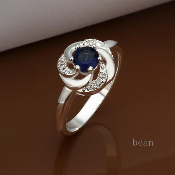Ювелирные изделия кольца серебряные ювелирные изделия 925 кольца для женщин анель Feminino серебро 925 роуз сапфир экстравагантный