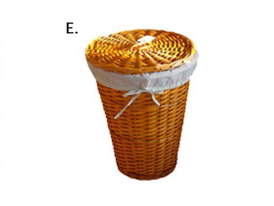 Nád szennyestartó vegyes forma. ( E) - narancs kerek