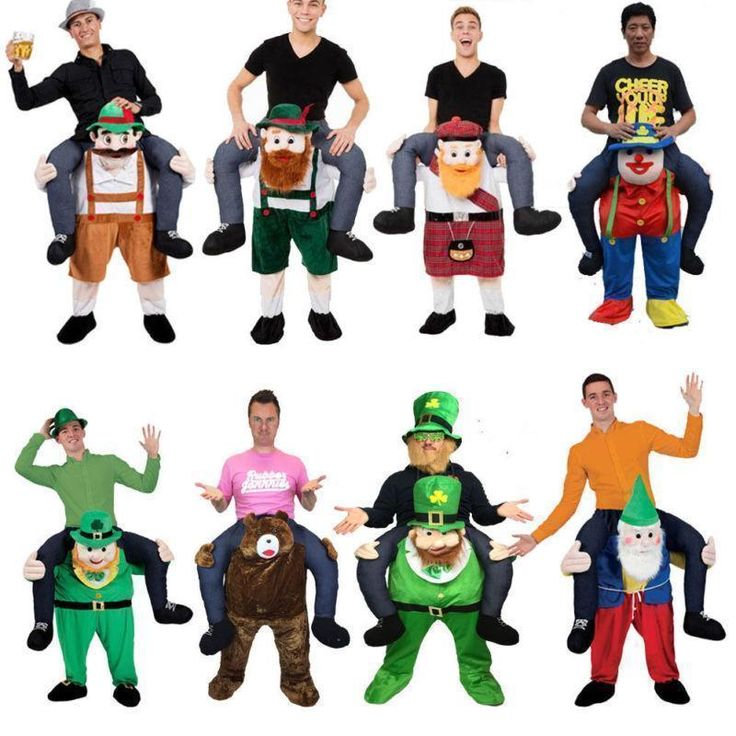 @@ Carry Me Bavarian Beer Guy Ride On Oktoberfest Mascot New Fancy Dress Costume #Mascotkingdom #CompleteOutfit