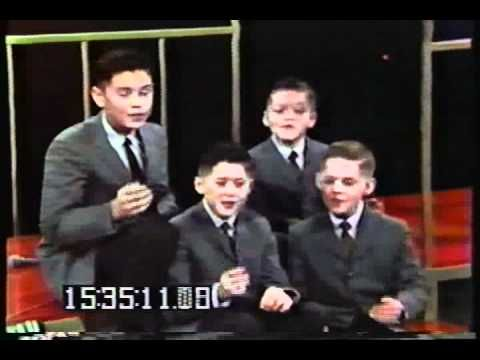 Osmond Brothers - Be My Little Baby Bumble Bee - Andy Williams Show