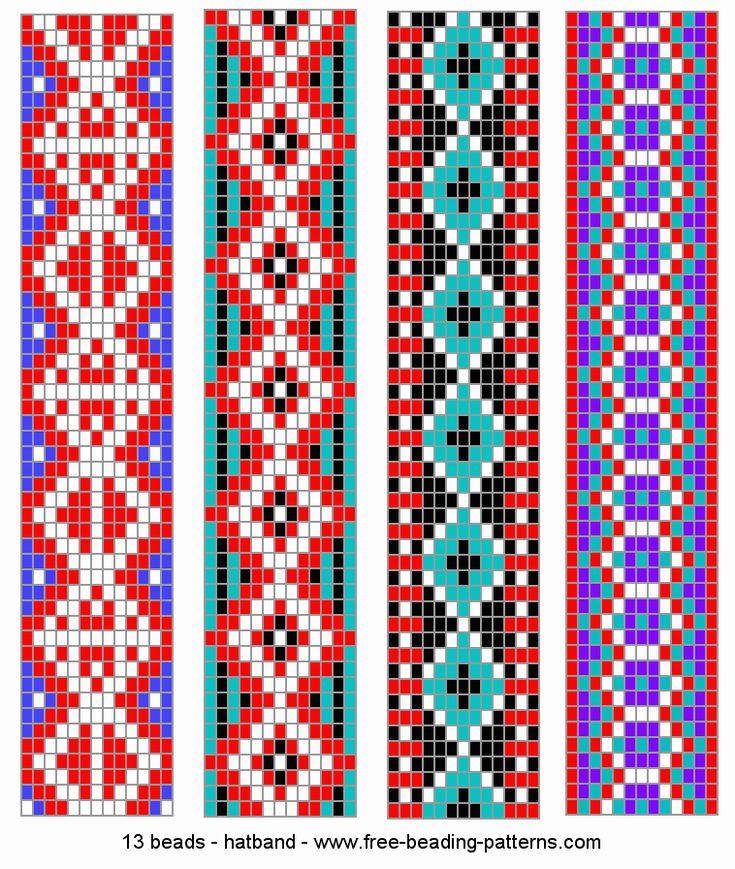 Best 200 Bead Loom Patterns Images On Pinterest Bead