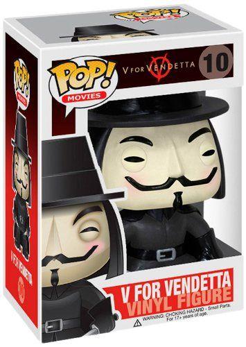 Funko POP Movies: V for Vendetta Vinyl Figure http://popvinyl.net #funko #funkopop #popvinyls