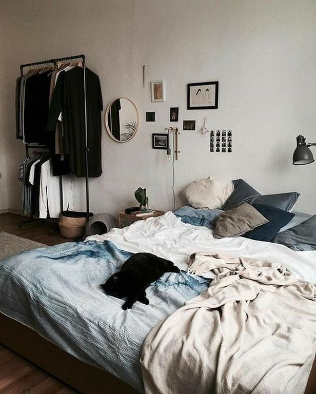 20 Stylish And Cozy Hipster Bedroom Ideas For Men Minimalist