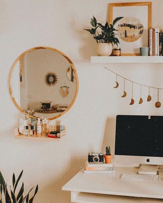 Interior Design Decor Decoration Livingroom Office Mirror Experience73 73EastLake Chicago Bestplacetolive
