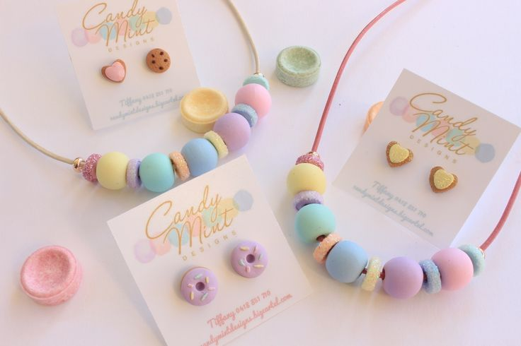 These gorgeous, colourful kids necklaces are so so sweet. Perfect for the little girl in your life. Strung on either White or Pink leather cord and...
