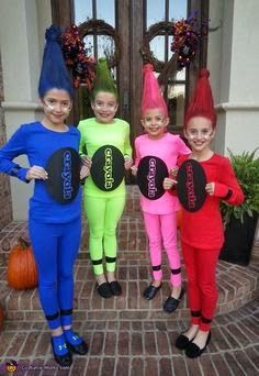 65 clever halloween costume ideas for kids i love the awesome crayon costume - 3 Girl Costumes Halloween
