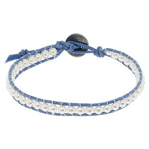 tutorial for making wrapped cord bracelets