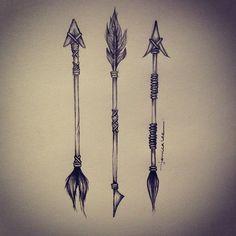 aztec arrow tatto - Google zoeken
