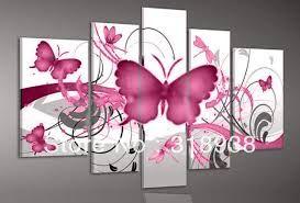 Resultado de imagen para cuadros modernos con mariposas