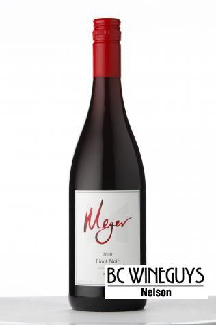 Meyer Pinot Noir 2011: Take a trip across the pond.  http://bcwineguysnelson.ca
