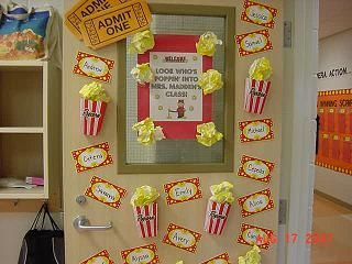 Hollywood Classroom Theme  Pictures / Photos  Tips / Ideas  Bulletin Board  Ideas  Elementary School Grade Kindergarten) Classroom Theme Hollywood