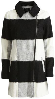 Vila Garcon coat black