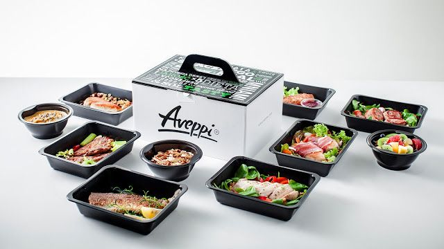 Aveppi - Dietary Catering Lunchbox on Packaging of the World - Creative Package Design Gallery