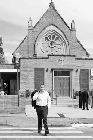 Sarah Braden, Photography, Weddings, Wedding Photography, South Coast Weddings, St Johns Church Campbelltown,