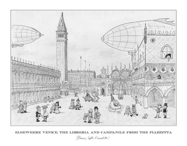 Elsewhere venice (after Canaletto)