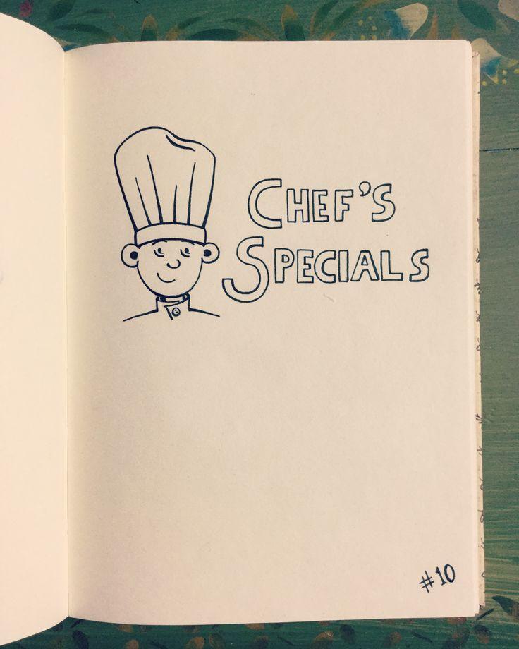 #inktober Day 10 - Chef's Specials