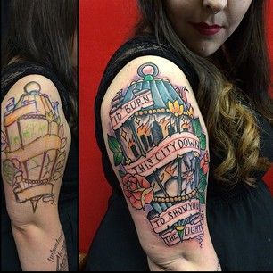 Fall Out Boy | Community Post: 14 Pop-Punk Tattoos That'll Make You Seriously Jealous
