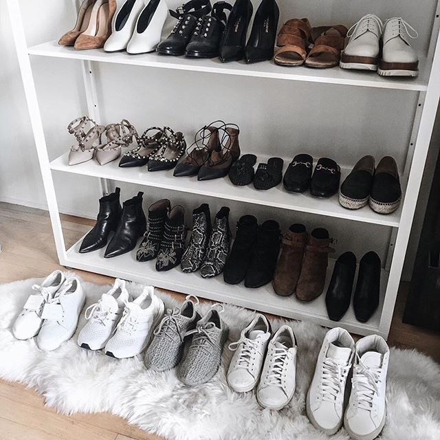 All of the shoes.