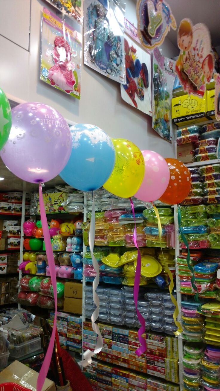 Balloons Decoration Without Helium Gas