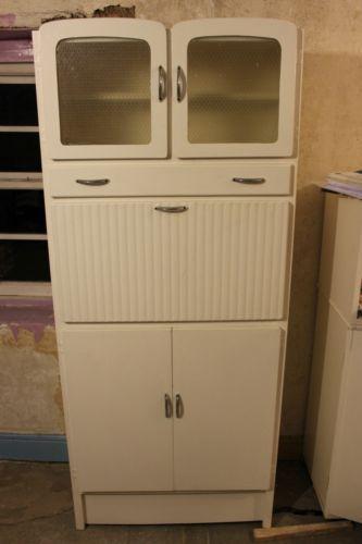 original 1950s to 1960s vintage kitchen pantry larder cupboard unit