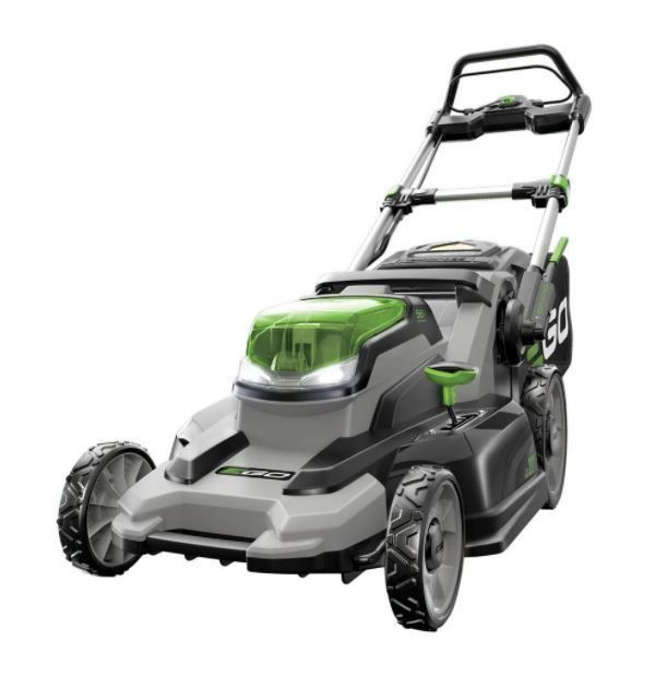 EGO Electric Walk Behind Push Mower Cordless 20 in Rapid Charging Without Noise
