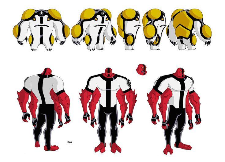 Artes para o seriado Ben 10, por Dave Johnson | THECAB - The Concept Art Blog