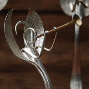 the eclectic ark: How to Recycle Silverware into Art