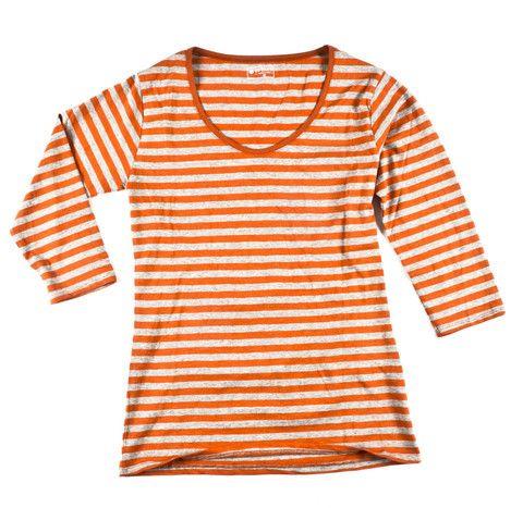 3/4 Sleeve Orange/Grey - INFACT