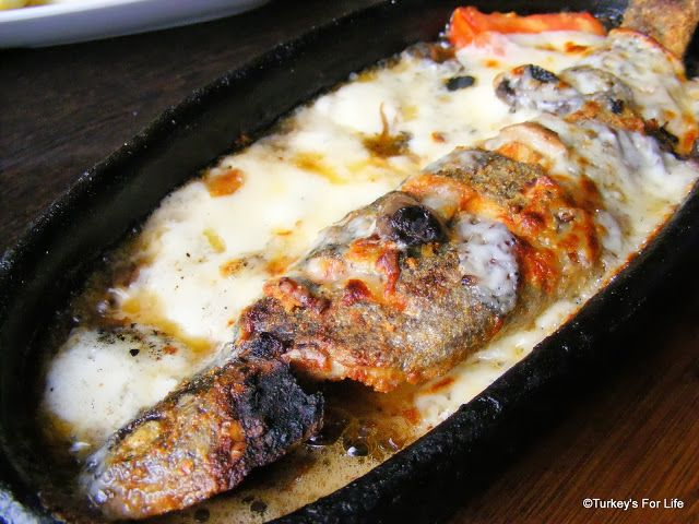 Alabalık Güveç - Trout Casserole in Erciş. The best! :)  #turkishfood #Turkey #Van