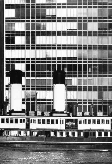 David Moore. Manly Ferry and Unilever building, Circular Quay – 1958
