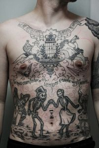 Love Afterlife #cool #sexy #tattoos #full #body #tattoos