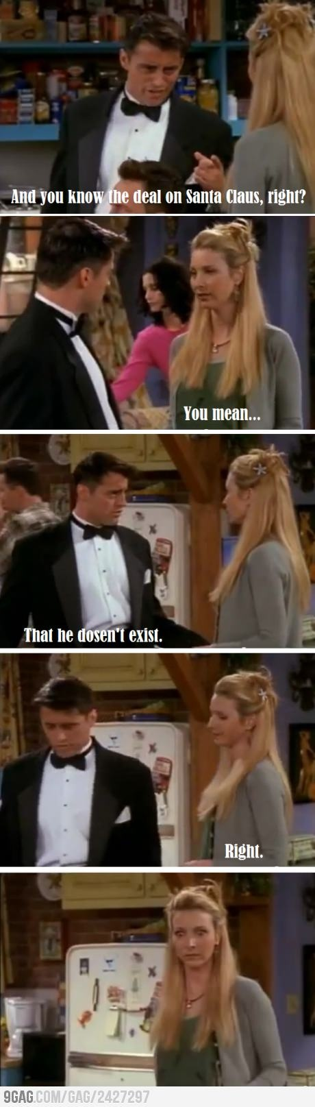 Poor Pheobe...but hilarious at the same time! I love FRIENDS :)