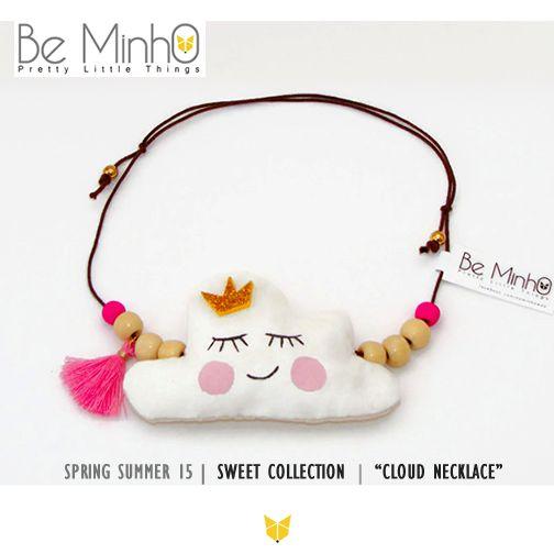 Be Minho - Cloud Necklace http://beminho.blogspot.pt/