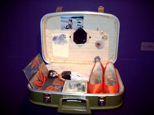 Suitcase shrine