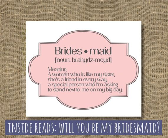 Honor Or Honour On Wedding Invitations: 17 Best Ideas About Bridesmaid Poems On Pinterest