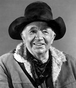 Walter Brennan - A great actor  and a great singer as well (One of these days I'm gonna climb that Mountain)