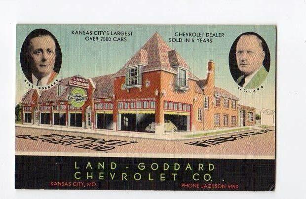 Land Goddard Chevrolet Co Dealership Kansas City Missouri Kansas City Kansas Car Dealership