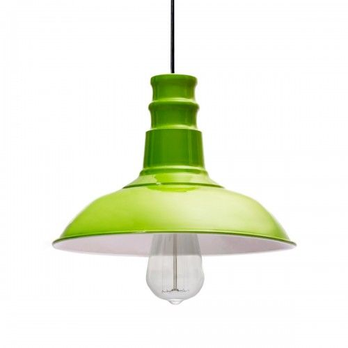 Maswaar Hijau | lampu gantung pendant light warna industrial interior design
