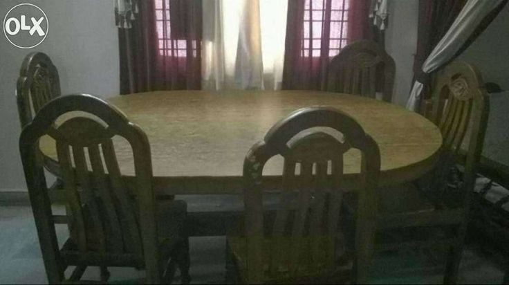 6 persons dining table for sell near radhika theater as rao nagar    Hyderabad   Home. 29 best olx images on Pinterest   Hyderabad  Home furniture and