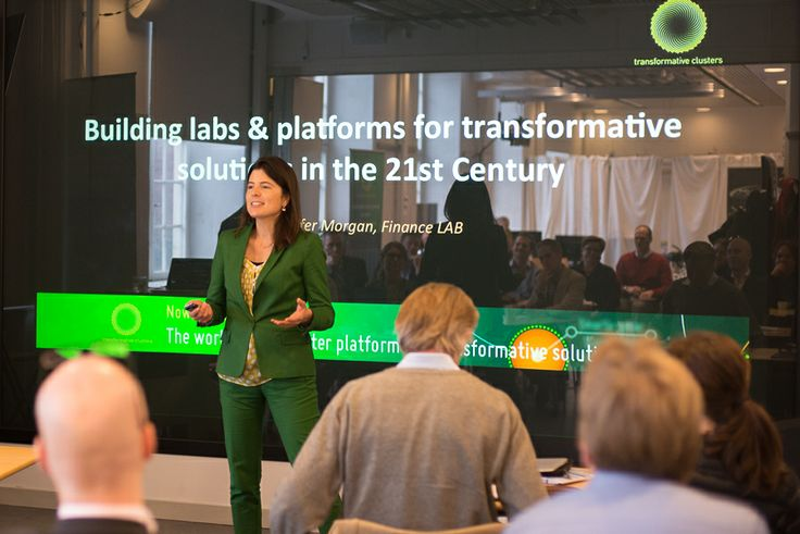 Jen Morgan, The Finance Lab and the need for transformative solutions