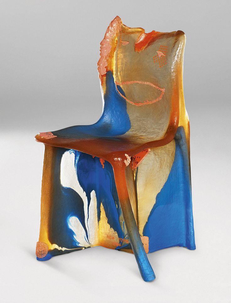 Pratt Chair de Gaetano Pesce, 1983-85