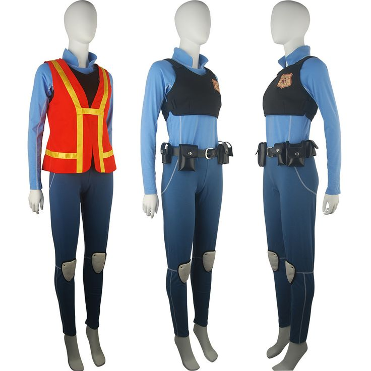 Disney Zootopia Cosplay Bunny Officer Judy Hopps Uniform Outfit Halloween Costume Comic con Costume