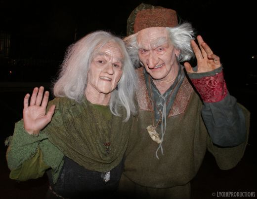 Have fun storming the castle costumes. When we are old we will do this :)