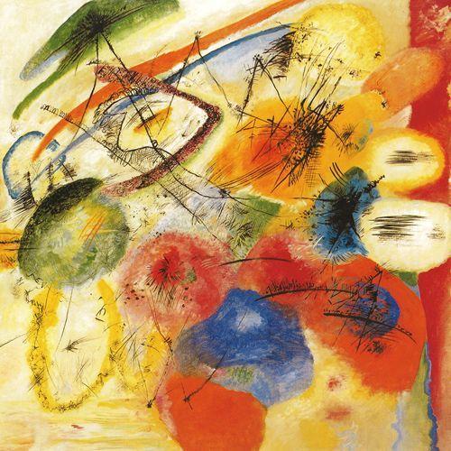 Linea nera I - 1913 - Kandinsky Vassili - Opere d'Arte su Tela - Listino prodotti - Digitalpix - Canvas - Art - Artist - Painting