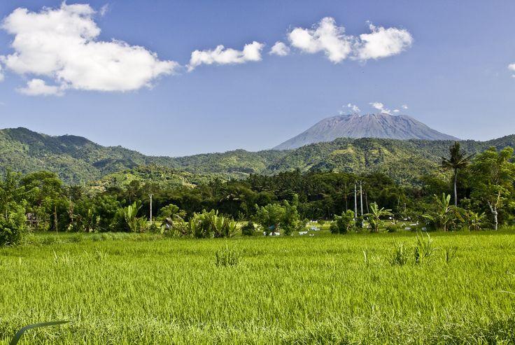 Bali - sopka Agung