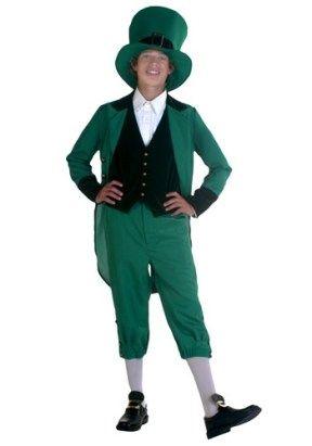St Patricks Day Costumes - Teen Leprechaun Costume