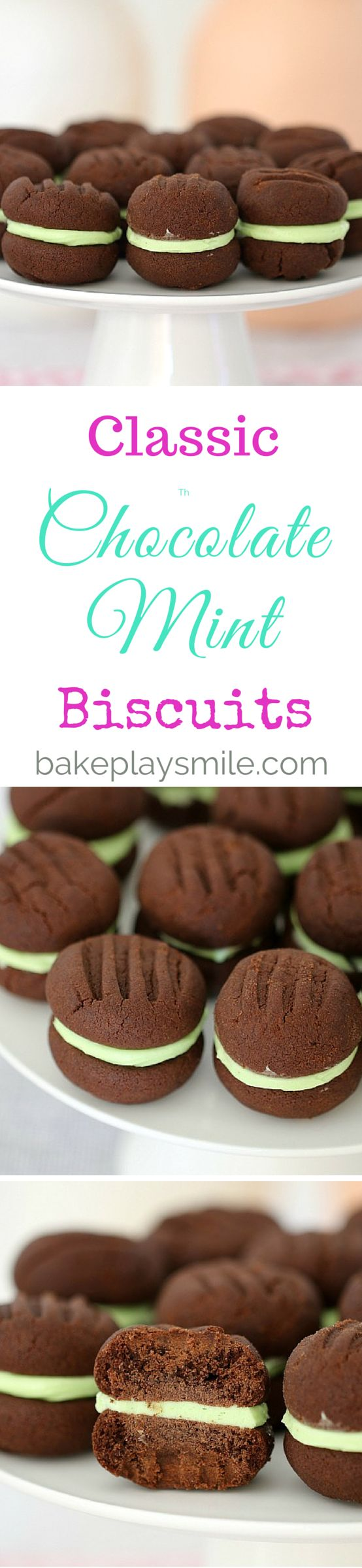 These Chocolate Mint Biscuits really are the perfect combination. Two…