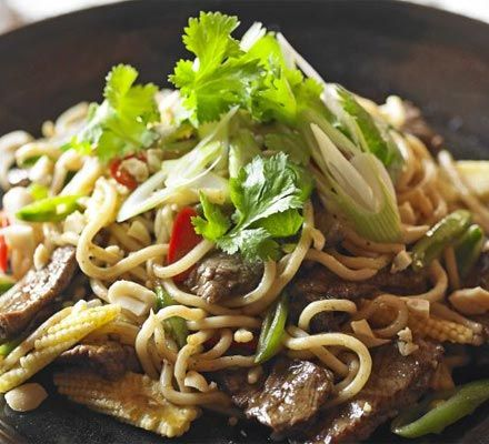 Try making this noodle dish to celebrate Chinese New Year