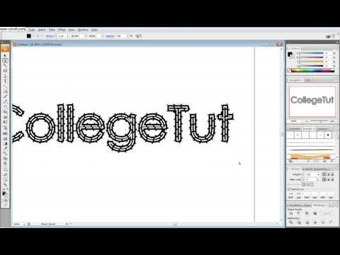 how to create fonts & types in illustrator